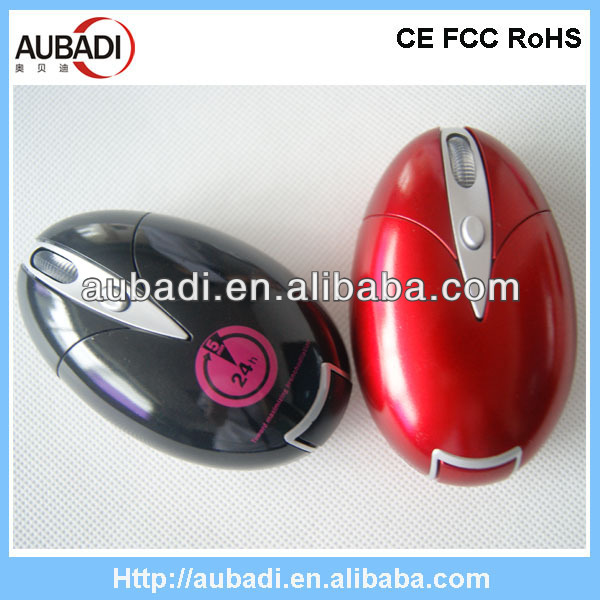 Cute design 27mhz RF wireless optical new style mouse