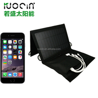 Outdoor Foldable Solar Charger Bag For Traveling Mobile Charger Bag