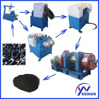 Used Tire Retreading Cutting Machine Used Tire Recycle Machine