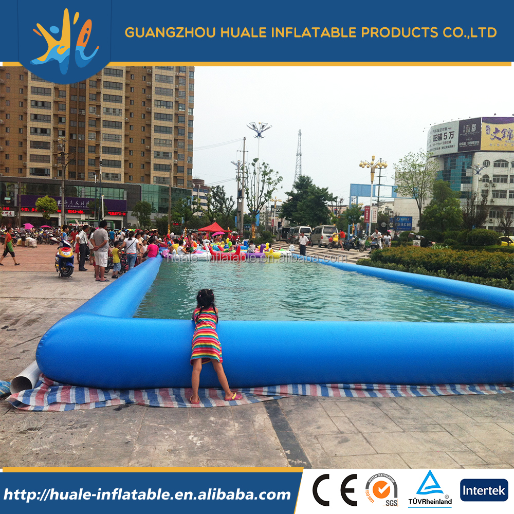 Giant inflatable square water swimming pool inflatable for Huge inflatable swimming pool