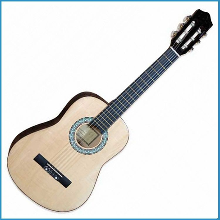 32 or 34 inch kid guitar , nylon string classical acoustic guitar for junior , child wood guitar
