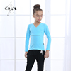 Girls Long Sleeve Wrap Over Top