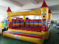 Top sale indoor outdoor strong 0.55mm pvc inflatable bouncy for kids hire a bouncy castle