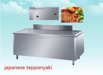 high quality teppanyaki plate teppanyaki induction teppanyaki with cabinet for restaurant. Black Bedroom Furniture Sets. Home Design Ideas