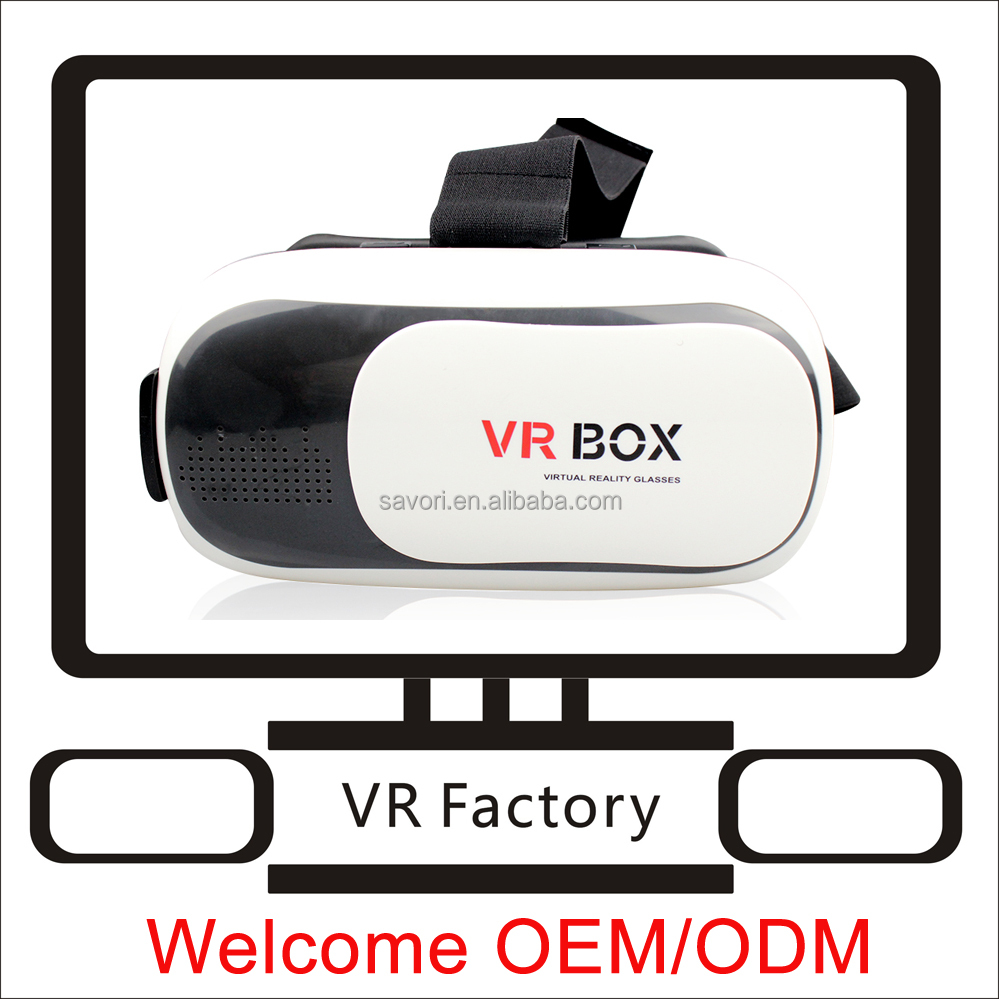 Hot selling custome 3d VR glasses watch movies adult free 3d virtual reality glasses