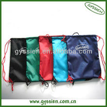 cheap nylon foldable shopping bag with string