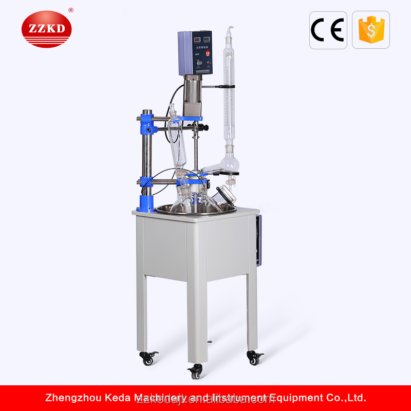 Electric Heating Single Layer Glass Reactor