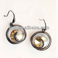 nickel free clip on pure titanium earrings