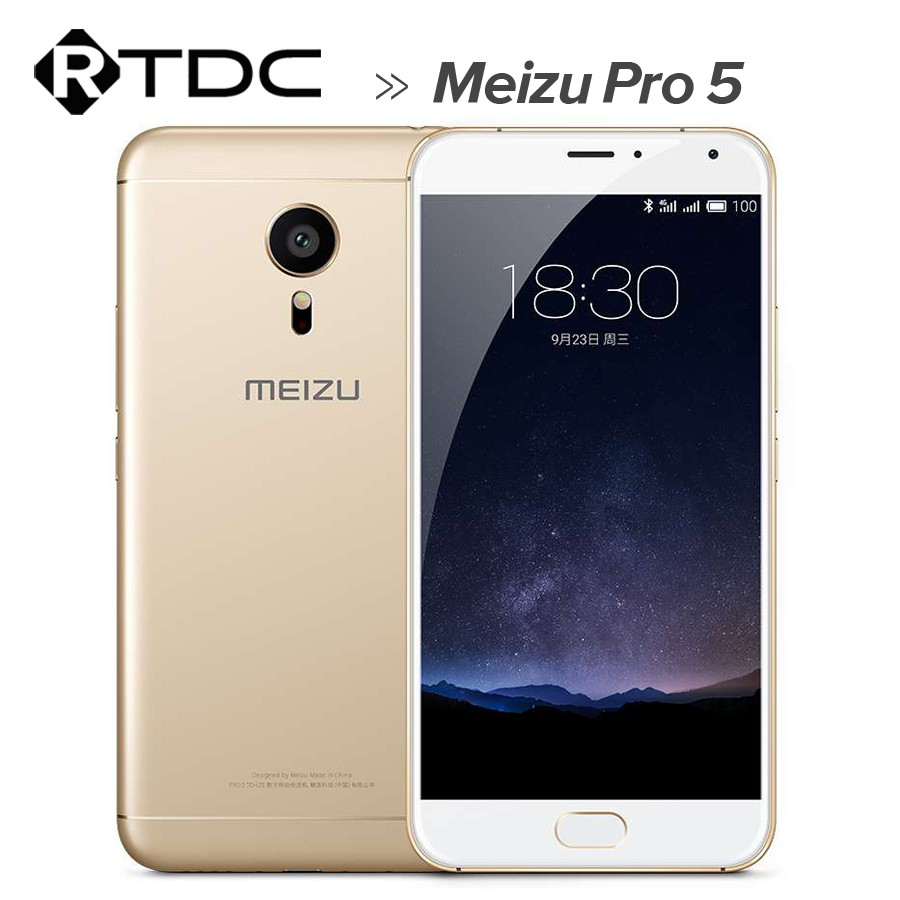 IN STOCK original MEIZU PRO5 5.7 inch Flyme 5.0 Smart Phone, Exynos7420 Octa Core 2.1GHz + 1.5GHz, ROM