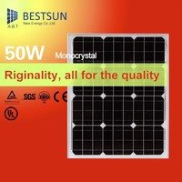 Cheapest Price 25 years warranty 50W Mono solar panel with CE,TUV certificate and best service