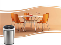 Home Usage Stainless Steel automatic trash can touchless