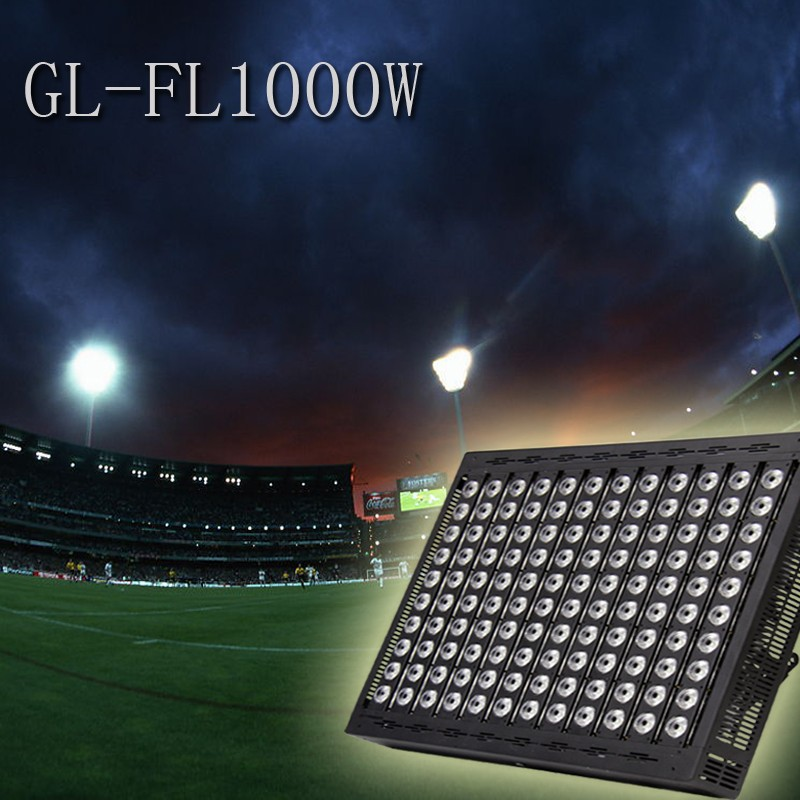 2016 Mecree new module led flood light 1000w 1500w 2000w for sports field soccer lighting