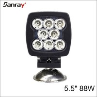 5.5Inch 80w square 4x4 LED Driving off road Truck work light