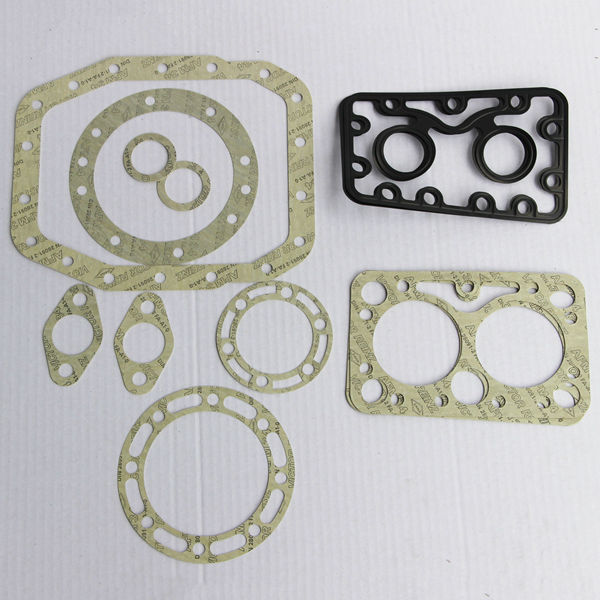 Kubota 350 engine rebuild kit,rubber full gasket kit for screw rotary compressor ,carburetor gasket set made in China factory