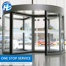 Commercial building hotel automatic door Main Frame Designs Lobby rotating automatic sliding door Entrance Door