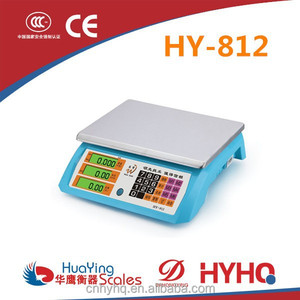 Hot selling electronic balance scale huaying HY-812