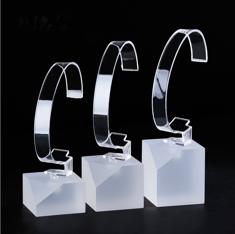 Desktop Clear Acrylic Display Stand For Watch Holder