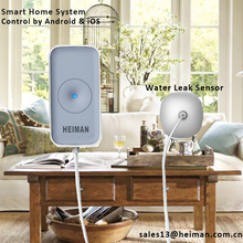 Popular Sell Smart Home ZigBee IoT 1.2 Version Water Leak Detector