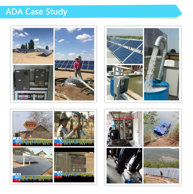 Good Quality submersible pump solar water pumping system for home use or agricultural irrigation include solai panel interver