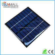 Small Size Monocrystalline Epoxy Mini Solar Panel 9V 220mA