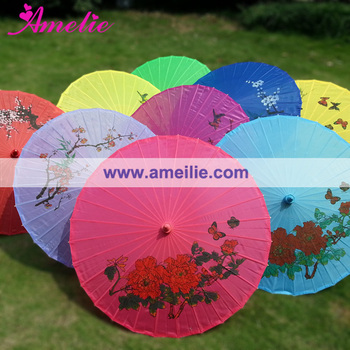 Silk Nylon Chinese Umbrella Wholesale for Wedding