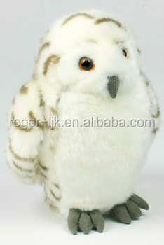 ICTI Create Your Own CE EN71 Plush Toy Fashion Custom White Owl Plush Toy Stuffed toy