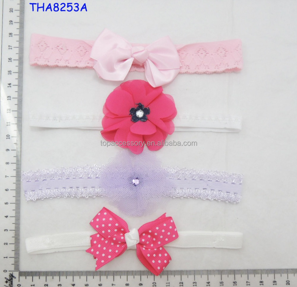 TOP BABY Girls Hair Ornaments Baby Headbands Childrens Hair Accessories