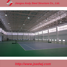 Prefab Light Steel Grid Frame Roof for Steel Structure Tennis Court