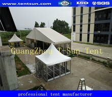 Beautiful ceremony marquee 4x8m 4x4m decotated party tent for sale