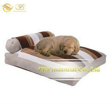 2013 new products on market stripe fabric pet furniture