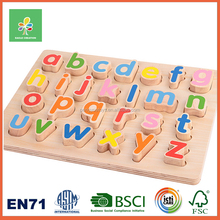 Alphabet Puzzle,educational wooden puzzle toy,wooden jigsaw puzzle for kids