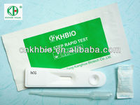 One Step hCG Pregnancy Test Cassette
