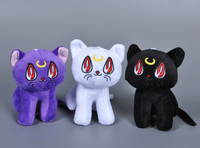Sailor Moon Anime Lunar Artemis Diana Cat Plush Toy Pet Shop Cartoon Animal Movies & TV Juguetes Stuffed Collectibles Doll Toys