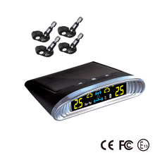 Solar power car tpms, wireless tire pressure monitor system