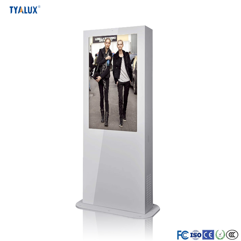 Standalone high resolution hot sell kiosk totem external digital signage