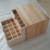 2 Tier Recyclable Timber Wood Essential Oil Bottle Storage Organizer Box
