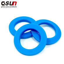 Food grade 4 clear silicone rubber o ring seal for thermos food jar lids