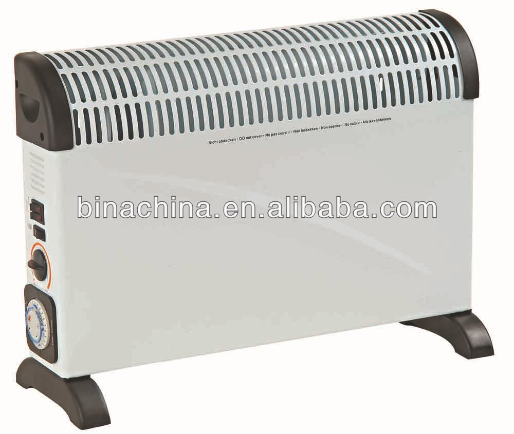 Sales Promotion Best 2000W Freestanding Or Wall Mounted Convector Heater With TURBO-fan&Timer