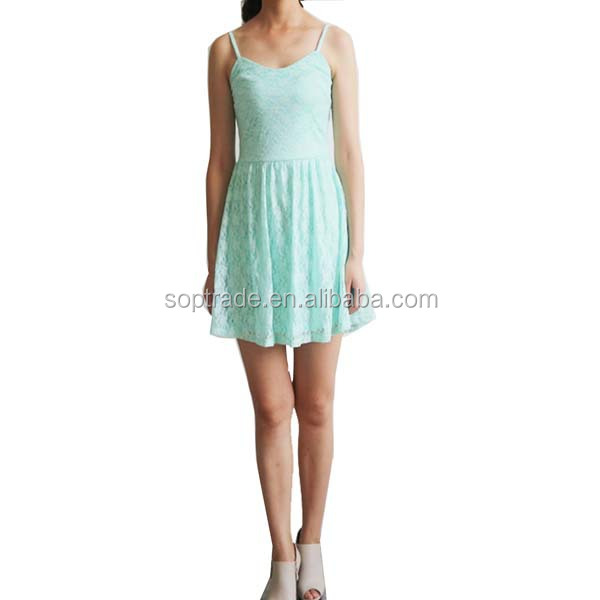Light green maternity sweetheart neckline dress with adjustable strap