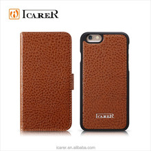 PU Leather Belt Clip Cover for iPhone 6 Case