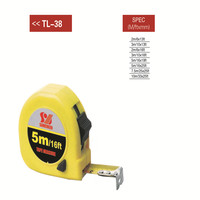 retractable steel tape measure with 3m 5m 7.5m 10m ABS plastic tape measure custom steel tape measure