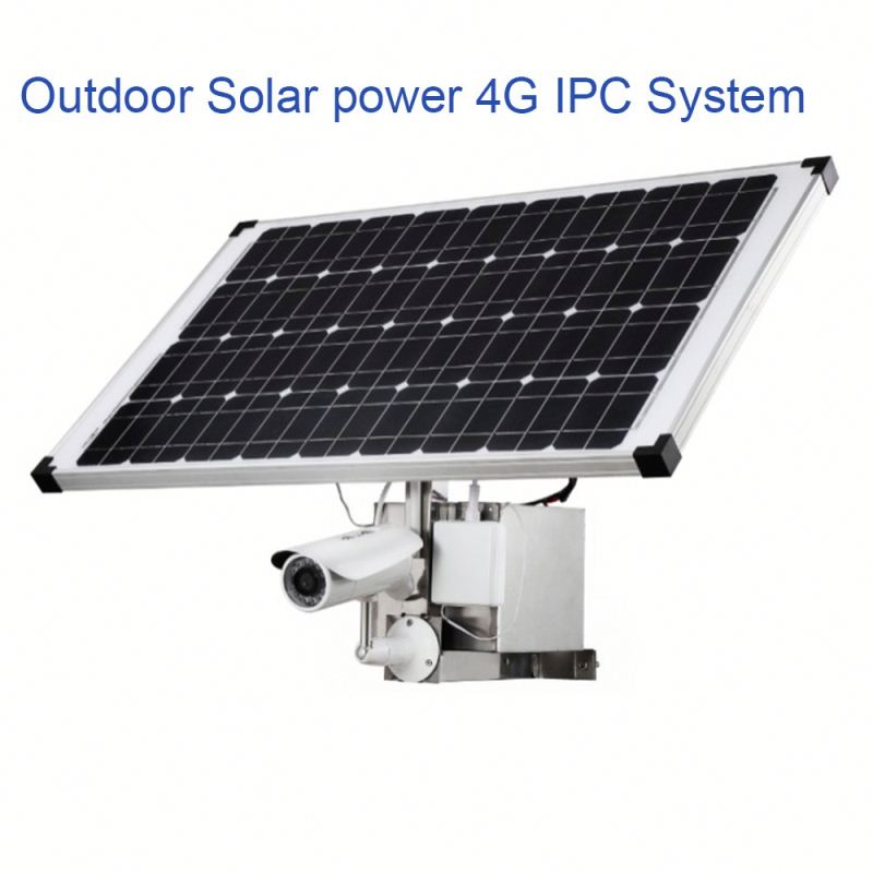 940nm ir outdoor wireless solar power security ip 4g network camera