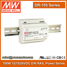 100w Meanwell DR-100-12 Single Output Industrial DIN RAIL Power Supply