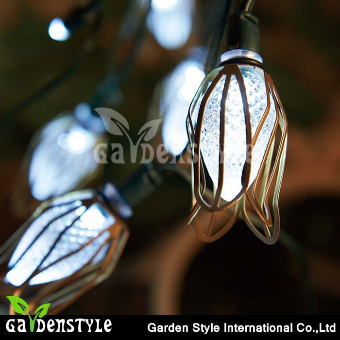 led christmas string light flower design, light string tree decoration, festivalled light string