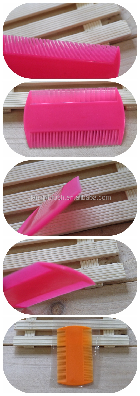 New products free plastic sample lice comb in 2016