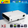 CRE X3001 DLP LED Home Cinema Video Projector With Optical Zoom 1.0-1.1 3000 Lumens 1280x800 3D Projector