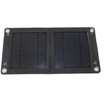 Custom made small size flexible solar panel for solar panel backpack
