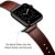 Custom OEM Sport Vintage Leather Strap Sublimation Watch Band for Apple Watch 42 mm 38mm Genuine Leather Band 44mm