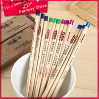 High Quality Eco Friendly stationery for office/Directly factory pencil manufacturer/long black wood pencil
