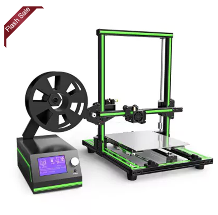 Homemade 3d printer with 12864LCD screen printing machine semi-assembled diy 3d printer kit